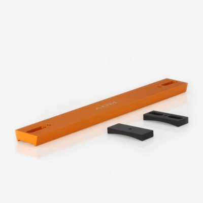 V Series Dovetail Bar for Celestron 8″ SCT Telescope. Orange Anodized