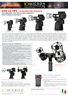 10Micron AZ HPS Mounts Info Sheet Download