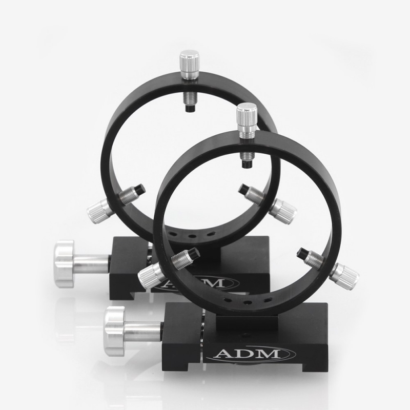 ADM D Series 100mm Adjustable Guidescope Rings