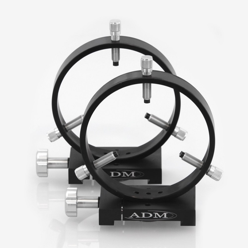 ADM D Series 125mm Adjustable Guidescope Rings