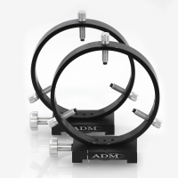 D Series 150mm Adjustable Guidescope Rings