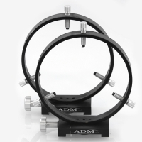D Series 175mm Adjustable Guidescope Rings