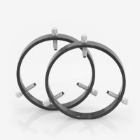 150 mm Adjustable Rings with Delrin Tipped Thumb Screws