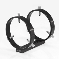 ADM V Series 7-Inch Universal Dovetail Bar with 150mm Adjustable Guidescope Rings