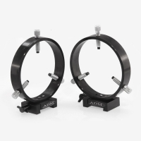 ADM V Series Dovetail Ring Set. 125mm Adjustable Rings