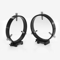 ADM V Series Dovetail Ring Set. 150mm Adjustable Rings