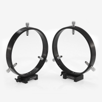 ADM V Series Dovetail Ring Set. 175mm Adjustable Rings