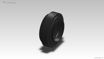 "Optec Mounting Ring with short SCT (2""x 24tpi) male thread"