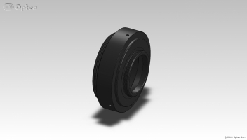 Optec Mounting Ring with T-Mount (M42x075mm) male thread
