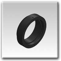 Optec Blank OPTEC-2300 receiver Mounting Ring for IFW