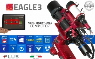 EAGLE3, control unit for telescopes and astrophotography