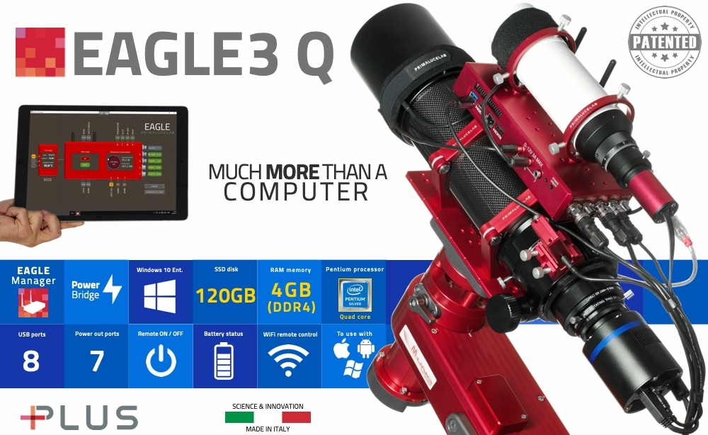 PrimaLuceLab EAGLE3 Q, control unit for telescopes and astrophotography
