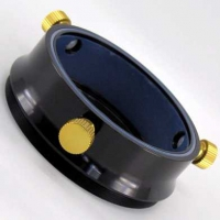 """Adapter 2.5"""" - 95x1mm Male Thread, 0.9"""" L (This is our FTF25 Series PTFE-Coupled Collar)"""